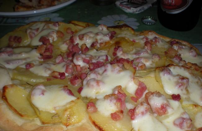 Focaccia Patate e Pancetta (met aardappel en spek)