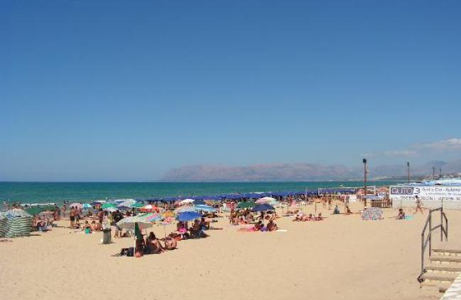 Strand Castellammare del Golfo