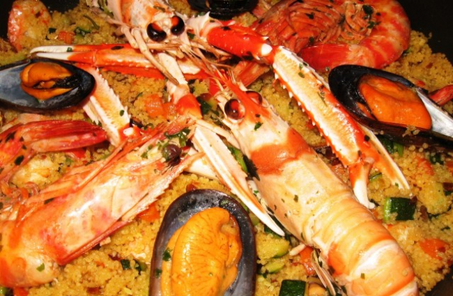 paella-di-cous-cous Trapanese